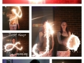 Sparklers With Claire