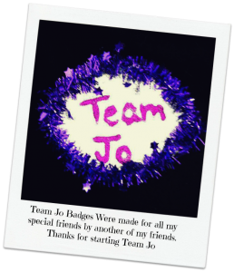 Team Jo Badge