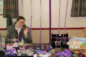Claire on Jewellery Stall