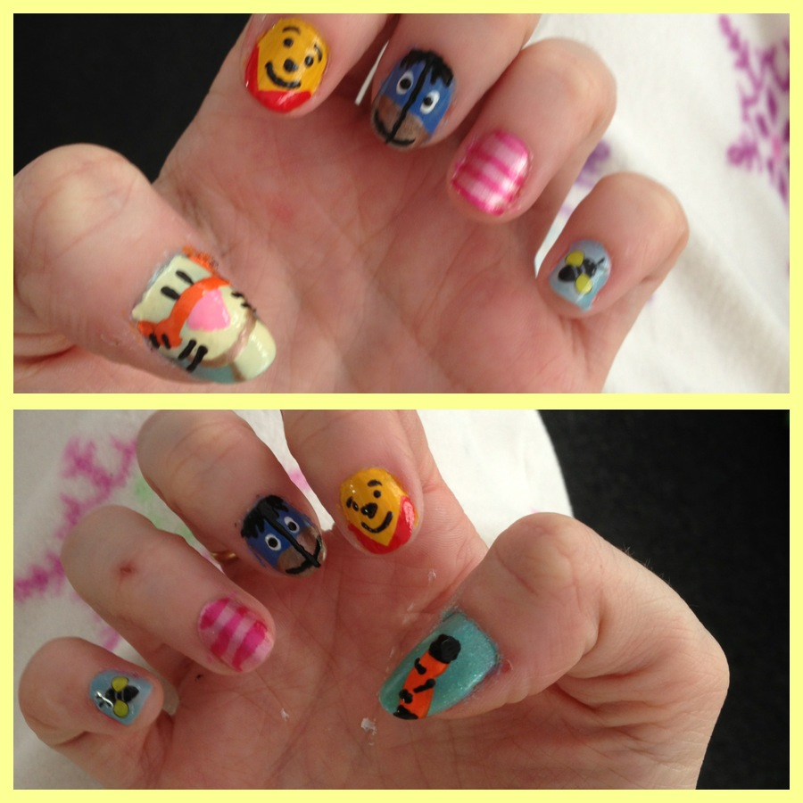 Nail Art Archives The Epilepsy Rollercoaster